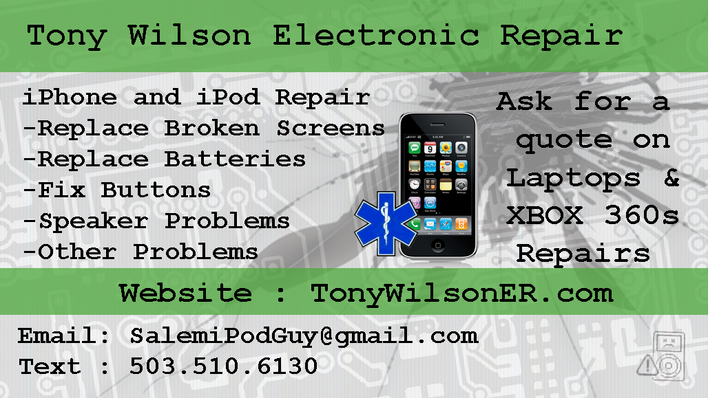 Tony Wilson Electronic Repair